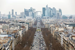 Paris cityscape France Stock Images