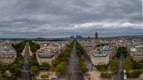 Paris cityscape royalty free stock images