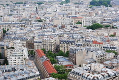 Paris cityscape. Spring in France 2014 stock images