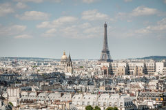 Paris-cityview Stockbild
