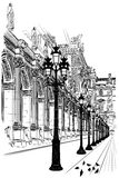 Paris: Classical architecture Royalty Free Stock Photography