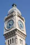 Paris Clocktower Royalty Free Stock Photo