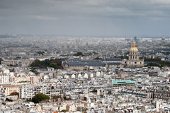 Paris in a cloudy day Stock Image