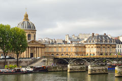 Paris in a cloudy summer day Stock Photography