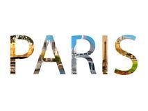 Paris collage Royaltyfri Foto