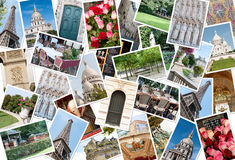 Paris Collage Stock Image