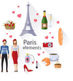 Paris collection. Stock Images