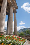 Paris - columns of Madeleine church Stock Photography