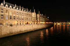 Paris. Conciergerie Royalty Free Stock Photos