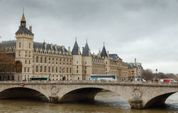 Paris. Conciergerie. Pont Neuf. Royalty Free Stock Photos