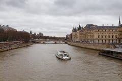 Paris. Conciergerie. Pont Neuf. Royalty Free Stock Images