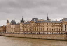 Paris. Conciergerie. Pont Neuf. Stock Image