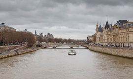 Paris. Conciergerie. Pont Neuf. Royalty Free Stock Image