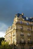Paris. Construi-la iluminou fotos de stock royalty free