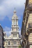 Paris. Construi-la iluminou com sol fotos de stock