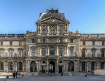 Paris - Courtyard of the Louvre royalty free stock photography