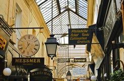 Paris, Covered Passageway Stock Photography