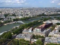 Paris da excursão Eiffel Imagem de Stock Royalty Free