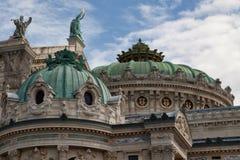 Paris-Dach der Oper Garnier Lizenzfreie Stockfotos