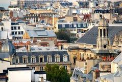 Paris-Dachspitzen Stockbild