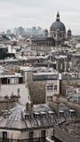 Paris-Dachspitzen Lizenzfreie Stockbilder