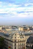 Paris-Dachspitzen Lizenzfreie Stockfotos