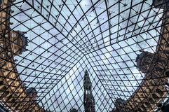 PARIS, das Louvre Art Museum Stockbilder