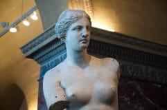 PARIS 18 DE AGOSTO: Visitantes no museu do Louvre, o 18 de agosto de 2009 em Paris, França. imagem de stock