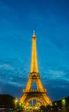 PARIS - 12 DE JULHO DE 2013: Torre Eiffel o 12 de julho Foto de Stock