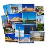 PARIS - 12 DE JULHO DE 2013: Torre Eiffel o 12 de julho de 2013 em Paris e Fotografia de Stock