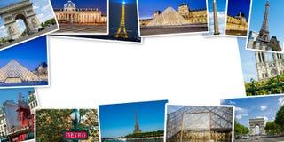 PARIS - 12 DE JULHO DE 2013: Torre Eiffel o 12 de julho de 2013 em Paris e Foto de Stock