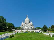 Paris - 12 de setembro de 2012: Basilique du Sacre Fotos de Stock