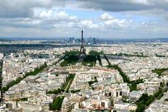 Paris de uma altura Foto de Stock Royalty Free