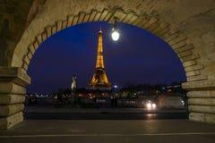 Bridge of the Alexandre III, Paris Stock Images