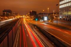paris Defesa da noite Imagem de Stock Royalty Free