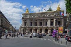 Paris - der Charme der Stadt Denkmäler von Paris Stockbild