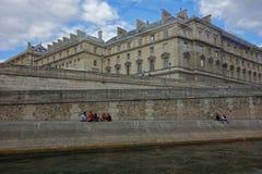 Paris - der Charme der Stadt Luftschlitz, Paris Lizenzfreies Stockbild
