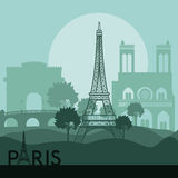 Paris design Royalty Free Stock Photography