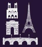 Paris design Stock Images