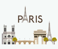 Paris design Royalty Free Stock Images