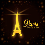 Paris design, vector illustration. Royalty Free Stock Image