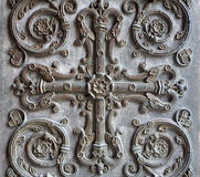 Paris - detail of gate of Saint Denis Royalty Free Stock Image