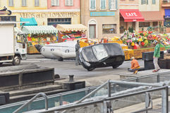 Paris - Disney Studios, Stunt Car Royalty Free Stock Photos
