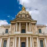 Paris - The Dome of the Invalides royalty free stock image