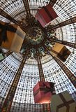 Paris. Dome shop Lafayette Royalty Free Stock Image