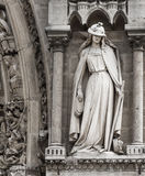 Paris domkyrka Notre Dame Royaltyfri Foto