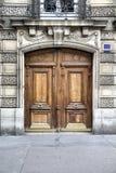Paris door Royalty Free Stock Photography