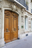 Paris door Royalty Free Stock Photography