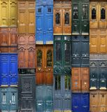 Paris doors Stock Photos