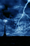 Paris dramatic Royalty Free Stock Photo